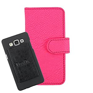 DooDa PU Leather Wallet Flip Case Cover With Card & ID Slots For Micromax Bolt A67