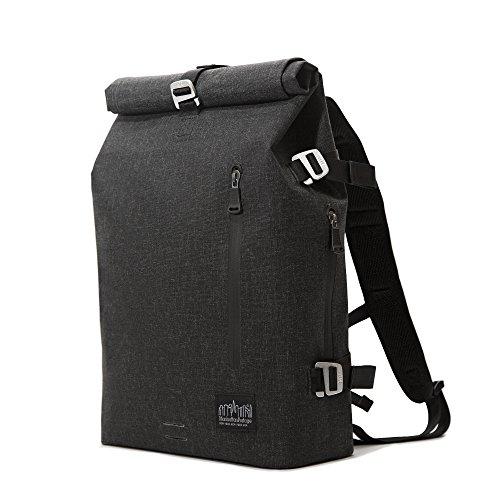 Manhattan Portage Harbor Backpack (MD), Black Manhattan Portage Nylon Backpack