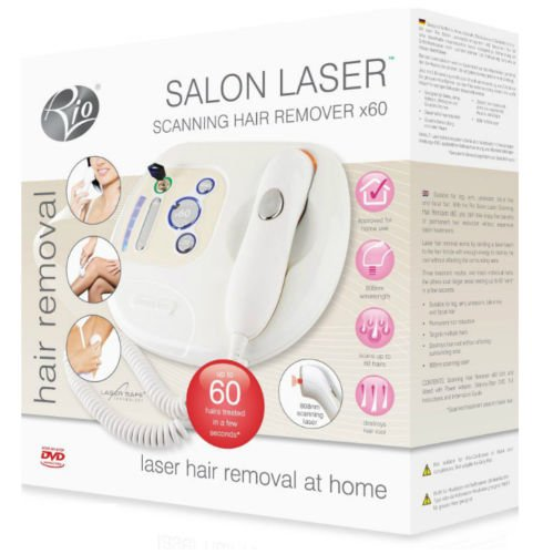 RIO Salon Scanning 60x Laser Hair Remover Lahc 4000 2 Yrs Warranty Easy for Use It (Rio Salon Laser Hair Removal compare prices)