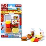 Iwako Japanese Eraser Set - Fast Food Assortment