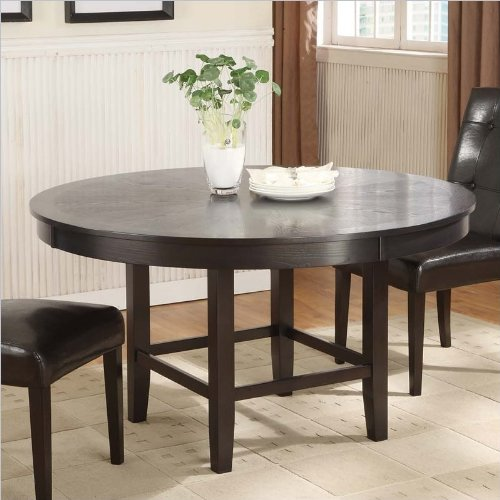 Modus Furniture 2Y2161R48 Bossa 48-Inch Round Dining Table, Dark Chocolate