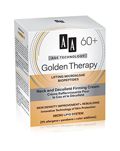 AA Cosmetics Crema Cuello Age Technology Golden Therapy 60+ 50 ml
