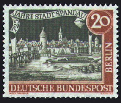 Briefmarken Berlin Nr. 159 postfrisch 725 Jahre Spandau 1957