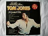 TOM JONES 20 Greatest Hits Tenth Anniversary Album 2xLP