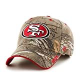 NFL San Francisco 49ers '47 Frost MVP Camo Adjustable Hat, One Size Fits Most, Realtree Camouflage