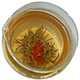 Elegant Lily Flowering Green Tea
