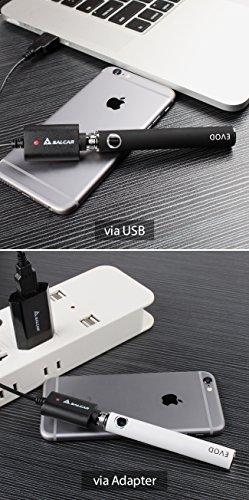 Komplettset-Salcar-Elektronische-Zigarette-E-Zigarette-Doppelset-und-Premium-E-liquid-2x-EVOD-Mini-Protank-set-mit-1100mah-EVOD-starkem-Akku-18ml-Mini-Protank-Verdampfer-USB-Ladekabel-und-Stromversorg
