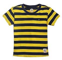 Vitamins Baby Boys' T-Shirt (08Tb-424-1-Yellow._Yellow_1 - 2 Years)