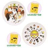 WORKING!! (ワーキング) 絵皿&カレールーセット ビジュアル絵皿・デフォルメ絵皿 全2種セット