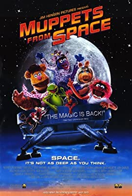 11 x 17 Muppets From Space Movie Poster