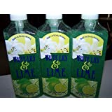 Lot Of 3 Bath & Body Works White Lily & Lime Deep Cleanisng Hand Soap 8 Fl Oz Each (White Lily & Lime)