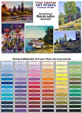 Great American Set of 78 Handmade Soft Pastels for Plein Air Selected by Richard McDaniel