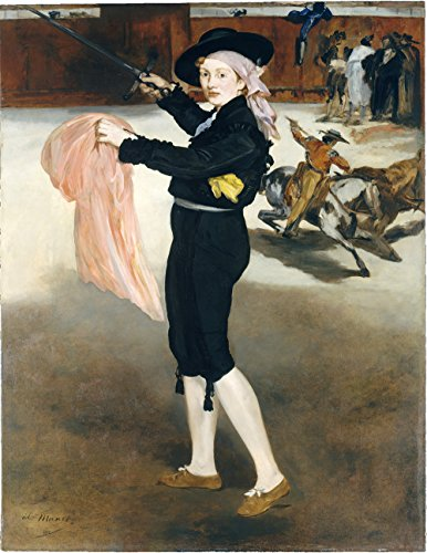 [Edouard Manet - Mlle Victorine Meurent in the Costume of an Espada - Extra Large - Matte Print] (Mlle Victorine Meurent In The Costume Of An Espada)
