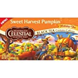 Celestial Seasonings Sweet Harvest Pumpkin Black Tea 20 Count (Pack of 2)