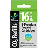 Genuine Innovations 16 Gram Threaded Cartridges (6 Packs)