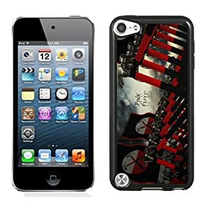 Customized Ipod Touch 5 Case,Custom Ipod 5th Case Design with Pink Floyd Cell Black Phone Case for Ipod Touch 5 5th Generation