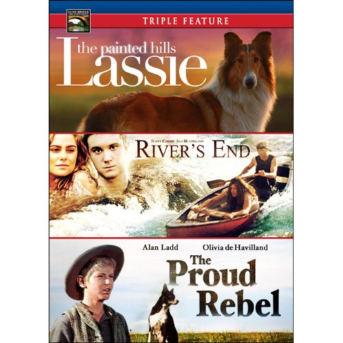 Family adventure v 2 river s end the proud rebel lassie the