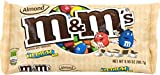 M&Ms with Almond Candy, 9.9-Ounce Packages (Pack of 6)