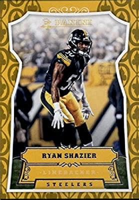 2016 Panini #13 Ryan Shazier Pittsburgh Steelers Football Card in Protective Screwdown Display Case