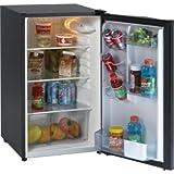 Avanti AVAAR4446B Refrigerator, Energy Star, Defrost, Glass Shelves, Compact, 4.3 cu. ft.