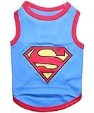 Parisian Pet Superman Dog T-Shirt, Small