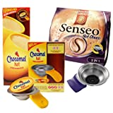 Senseo Hot Choco & Chocomel Start Set + Padhalter f�r Senseo Latte Select