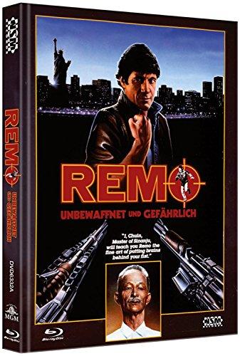 Remo - Unbewaffnet und gefährlich - uncut (Blu-Ray+DVD) auf 444 limitiertes Mediabook Cover A [Limited Collector's Edition] [Limited Edition]