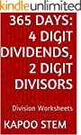 365 Division Worksheets with 4-Digit...