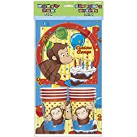 Curious George Party Pack for 8 by Unique Industries