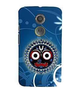 Surya Jyothika Puri Jagannath 3D Hard Polycarbonate Designer Back Case Cover for Motorola Moto X2 :: Motorola Moto X (2nd Gen)