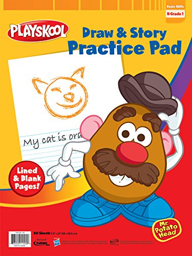 Playskool 9 x 12-Inch Draw and Story Pad - 1