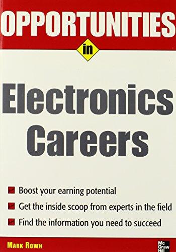 Opportunities in Electronics Careers (Opportunities Inâ|Series)
