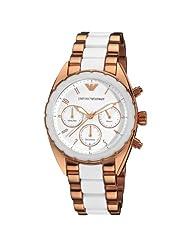 Armani Sportivo Chrono White Dial Women's watch #AR5942