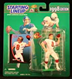 STEVE YOUNG / SAN FRANCISCO 49ERS 1998 NFL Starting Lineup Action Figure & Exclusive NFL Collector Trading Card