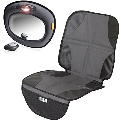 Brica Day & Night Light Musical Auto Mirror With Car Seat Mat front-834739