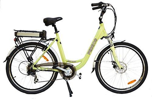 Pedeco 56032 Street Bici Elettrica, Verde