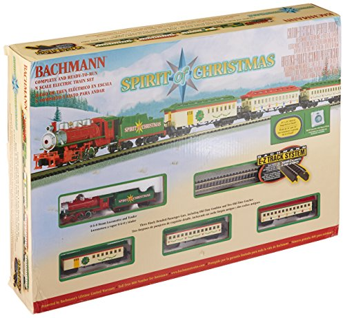 Bachmann Spirit Of Christmas Ready To Run Electric Train Set - N Scale