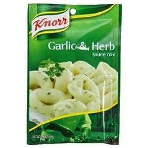 Knorr Pasta Sauces Garlic Herb Sauce Mix (12x1.6Oz )