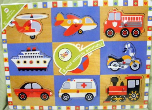 Buy Low Price Target Circo 8 Real Vehicle Sounds Puzzle (B003U2MLXO)