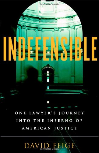 Indefensible: One Lawyer's Journey into the Inferno of...