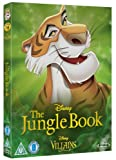 The Jungle Book [Blu-ray] Disney Villains O-Ring Slipcover Edition UK Import (Region BC) Disney Classics #19