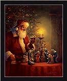 The Spirit Of Christmas by Greg Olsen Nativity Scene 13.5x17.5 Framed Art Print Picture