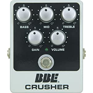 Nice deal on the BBE Crusher High Gain Distortion/EQ at Amazon