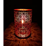 """Asiacraft Copper Finish Metal Tea Light Votive Candle Holder For Weddings, Celebrations And Decorations, 6"""""""