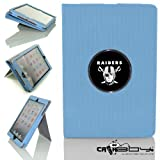 New Rubberized Tech-Grip Apple iPad Mini & iPad Mini with Retina Case with SLEEP SMART by Calaboy includes Personalized picture Frame w Oakland Raiders Logo (FB1) at Amazon.com