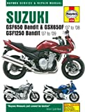 Haynes Manual for Suzuki GSF650/1250 Bandit & GSX650F (07 - 09) Including an AA Microfibre Magic Mitt