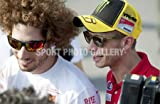 Motor Bikes photo - Marco Simoncelli & Valentino Rossi 2011 - Medium - Print Only