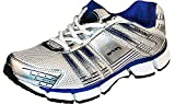 Pro (from Khadims) Men's Silver:Blue Synthetic Sports Sneakers - 6