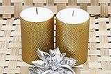 #3: Maxime Pure Comfort - Set of 2 Decorative Candles - GOLDEN