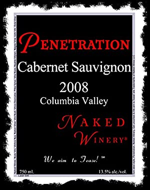 2008 Naked Winery Penetration Cabernet Sauvignon 750 mL